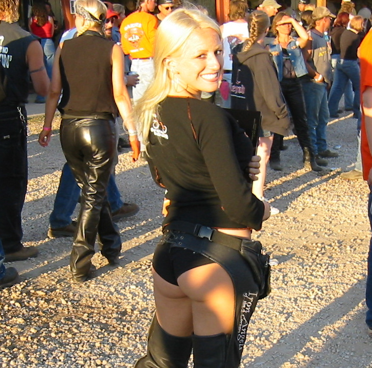 Consider, that Nude women in chaps from