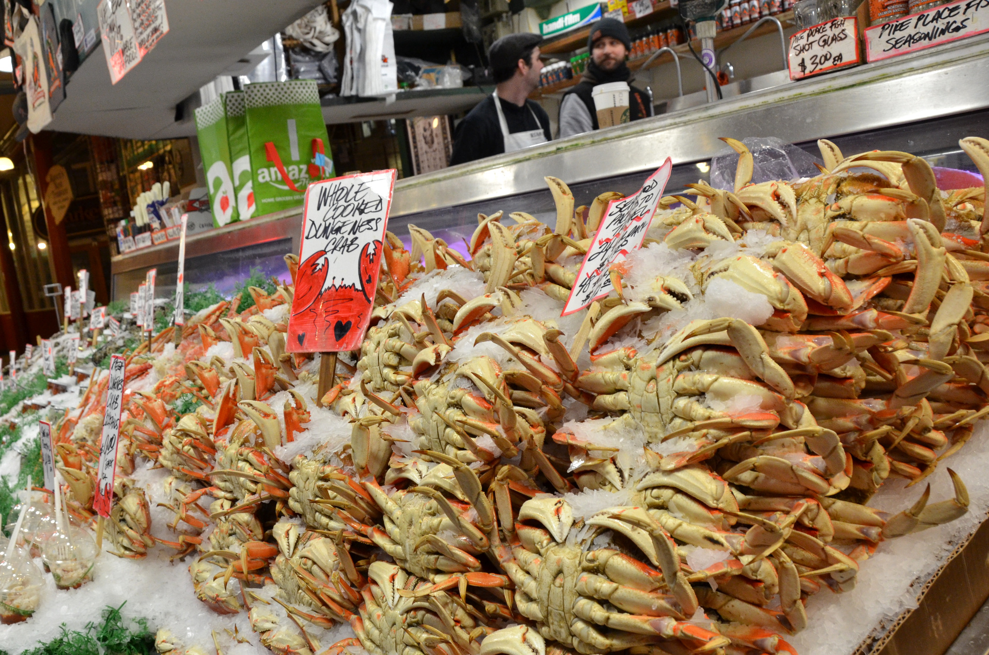 Seattle paul michaels for Fish market in seattle