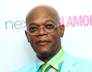 U.S actor Samuel L Jackson arrives for the Glamour Magazine Women Of The Year Awards at Berkeley Square Gardens in central London, Tuesday, June 3, 2014. (Photo by Joel Ryan/Invision/AP) ORG XMIT: LENT108