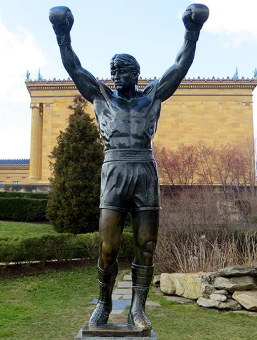 Rocky-statue-outside-the-Philadelphia-Museum-of-Art