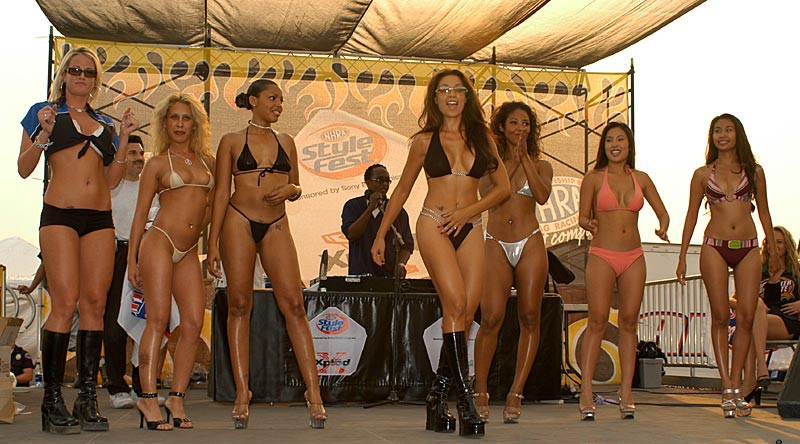 I started attending these races and handled my business. I got to know  everybody that traveled from race to race. And I would go to the bikini  contests and ...