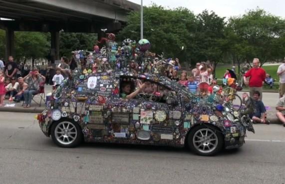 Art Car Parade 2015-19
