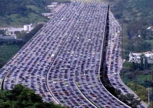 Crowded-Freeway