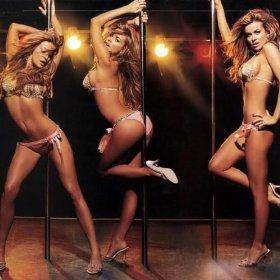 Enjoying female girl stripper