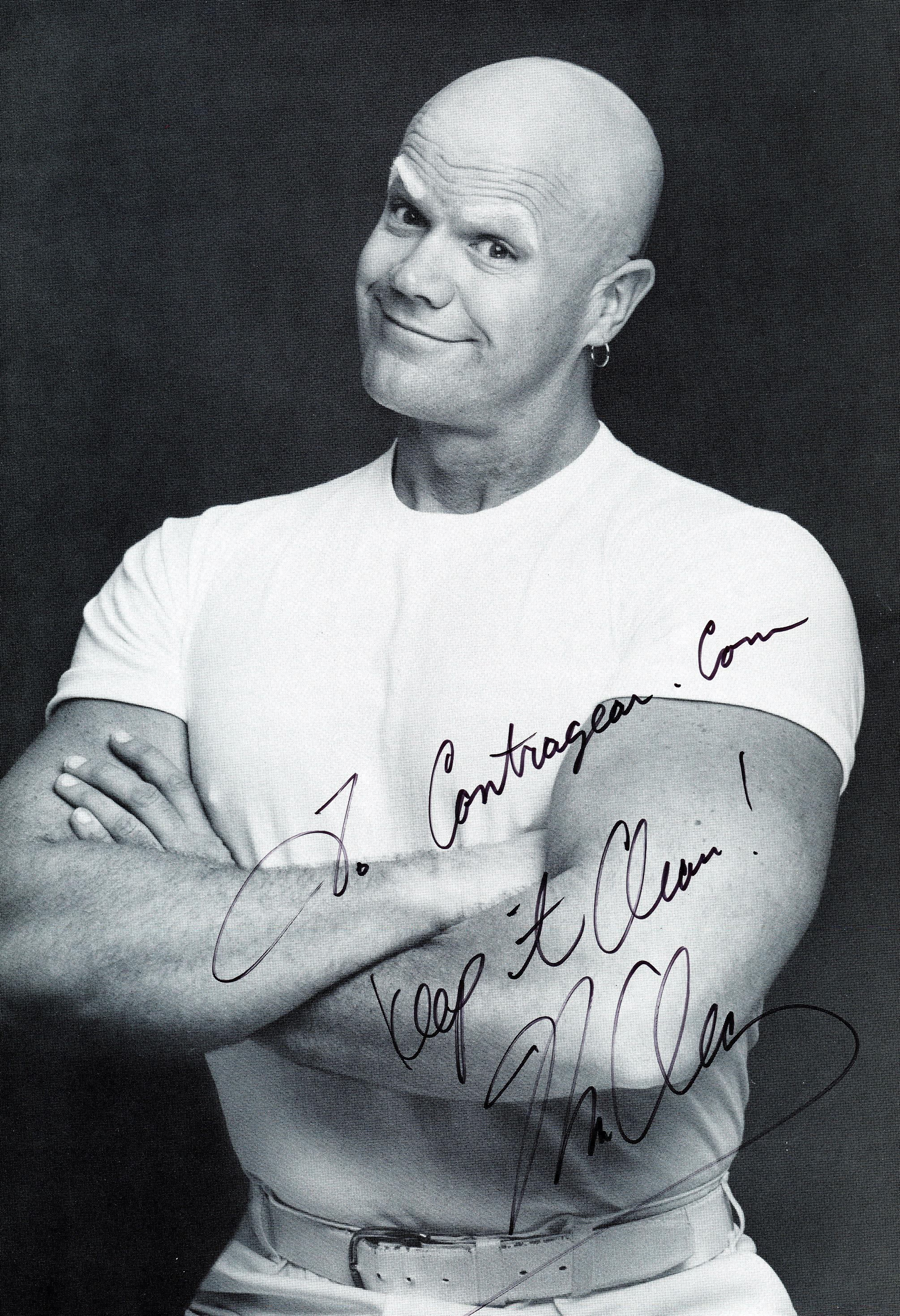 Mr. Clean Autograph